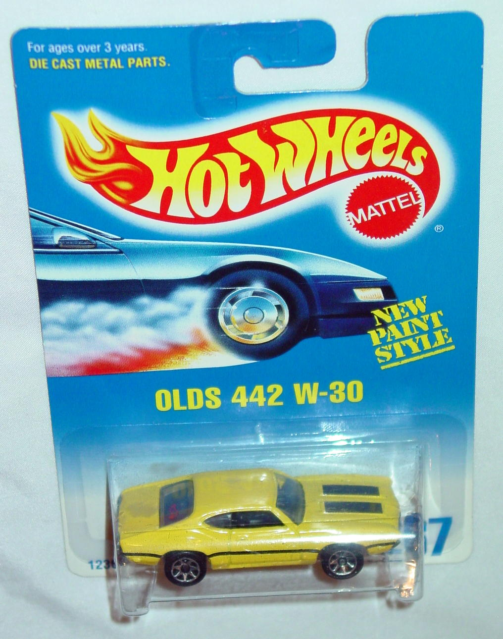 Blackwalls 12360 - 267 Olds 442 W-30 Yellow SP7