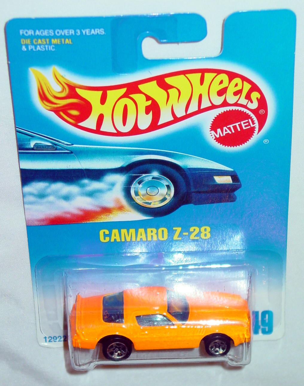 Blackwalls 12922 - 449 Camaro Z-28 Orange SP5