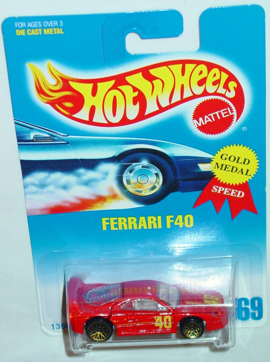 Blackwalls 13582 - 069 Ferrari F40 Red LWGD