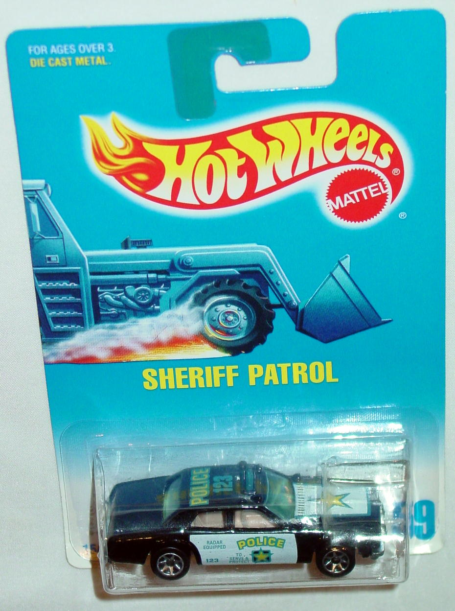 Blackwalls 1549 - 059 Sheriff patrol Black SP7 C9.5