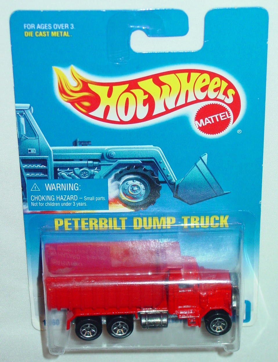Blackwalls 1560 - 100 Peterbilt Dumper Red SP7