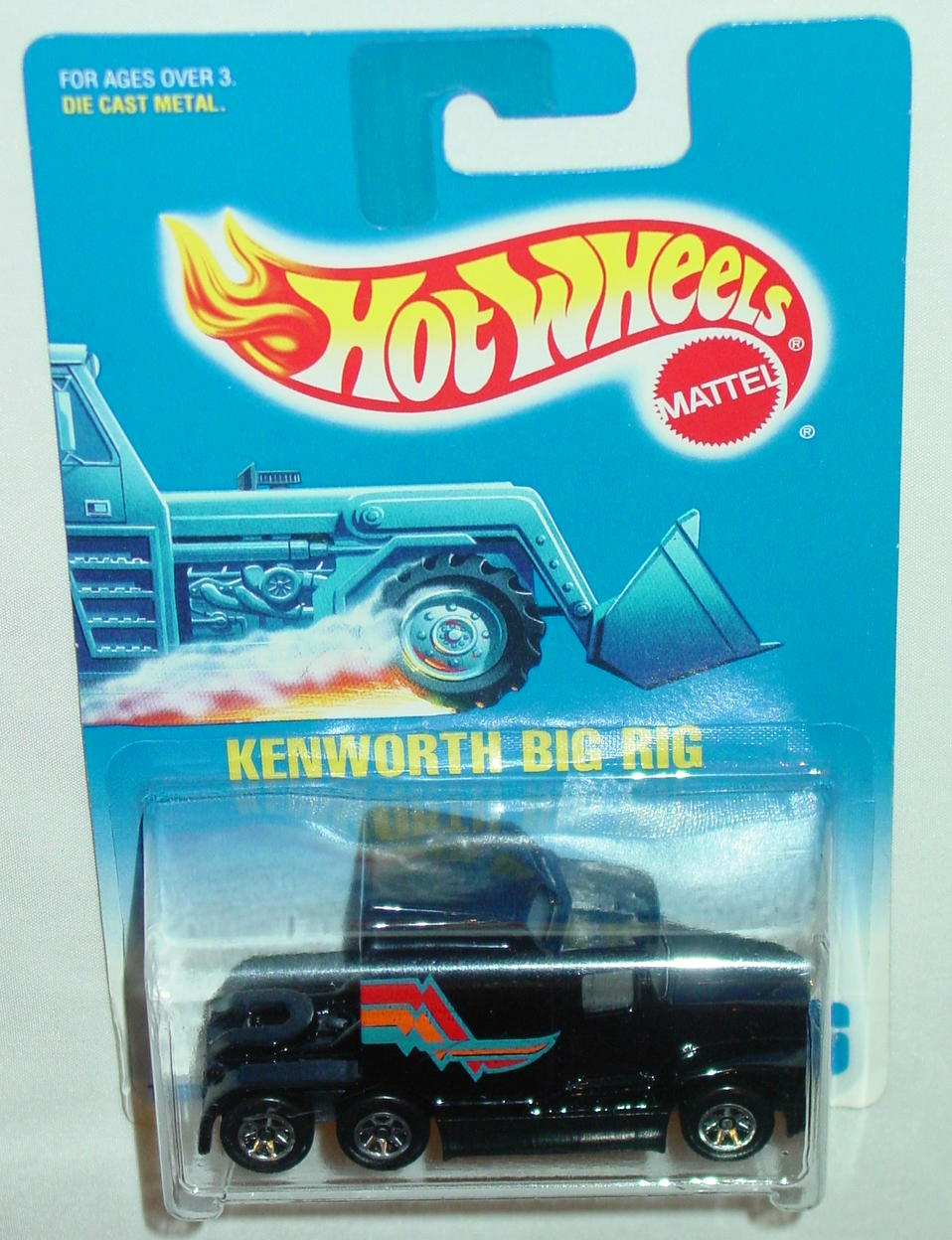 Blackwalls 1790 - 076 Kenworth Big Rig Black SP7