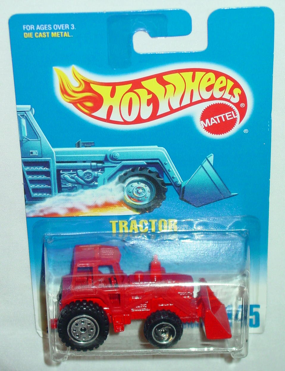 Blackwalls 2075 - 145 Tractor Red DW3(?)