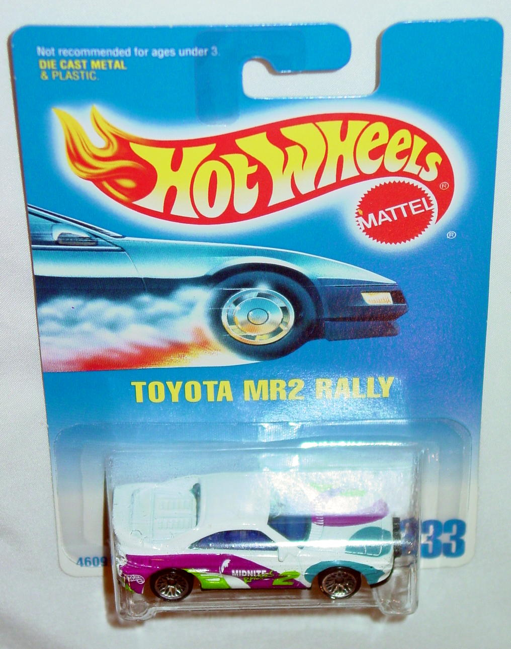 Blackwalls 4609 - 233 Toyota MR2 Rally White with tampo LWCH