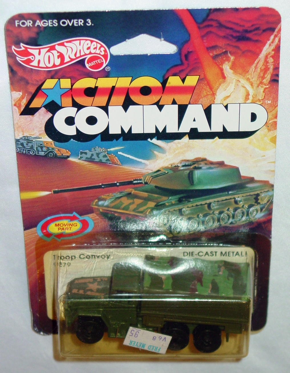 Blackwalls 4921 B - Troop Convoy Olive with cover tampo