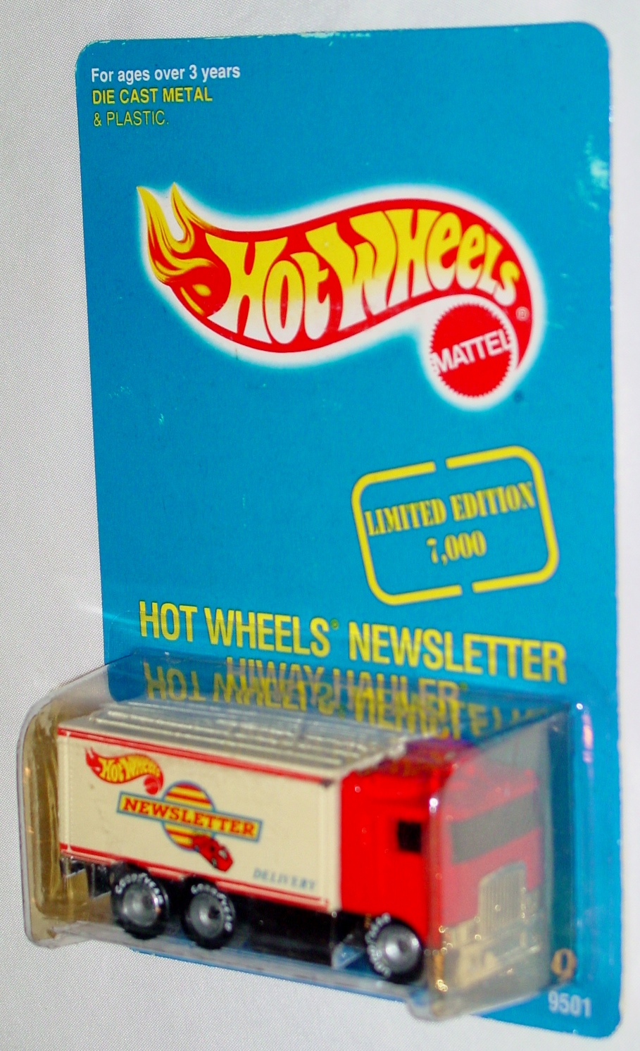 New Hot Wheels - HIWAY HAULER Hot Wheels Newsletter Red and white
