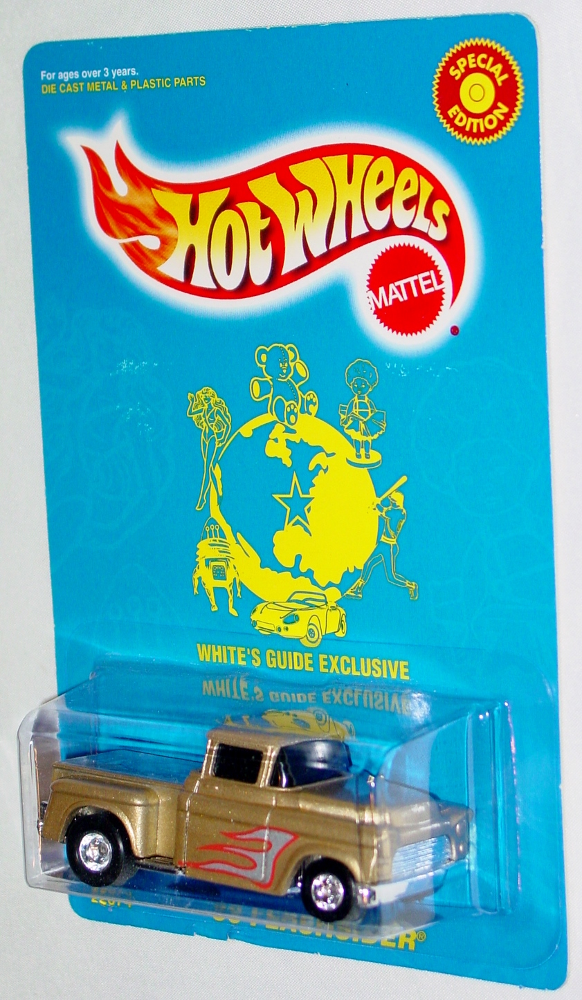 New Hot Wheels - WHITES GUIDE 56 Flashsider Gold