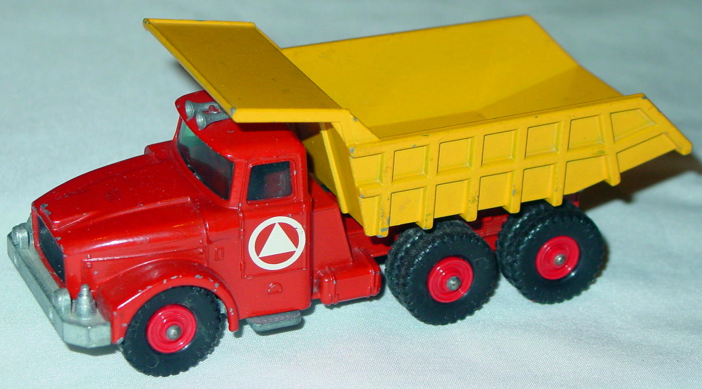 King Size 19 A - Scammell tipper