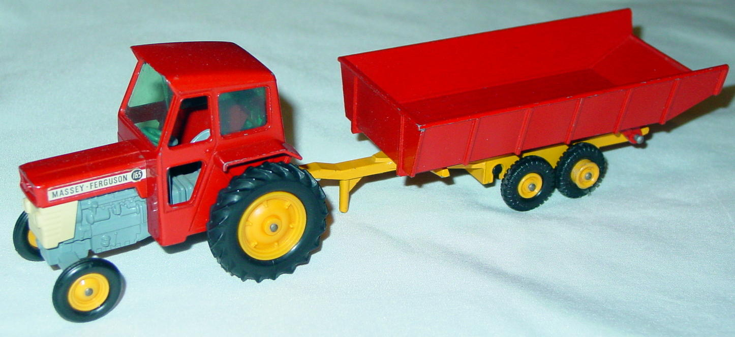 King Size 03 C 1 - Massey Tractor/trailer