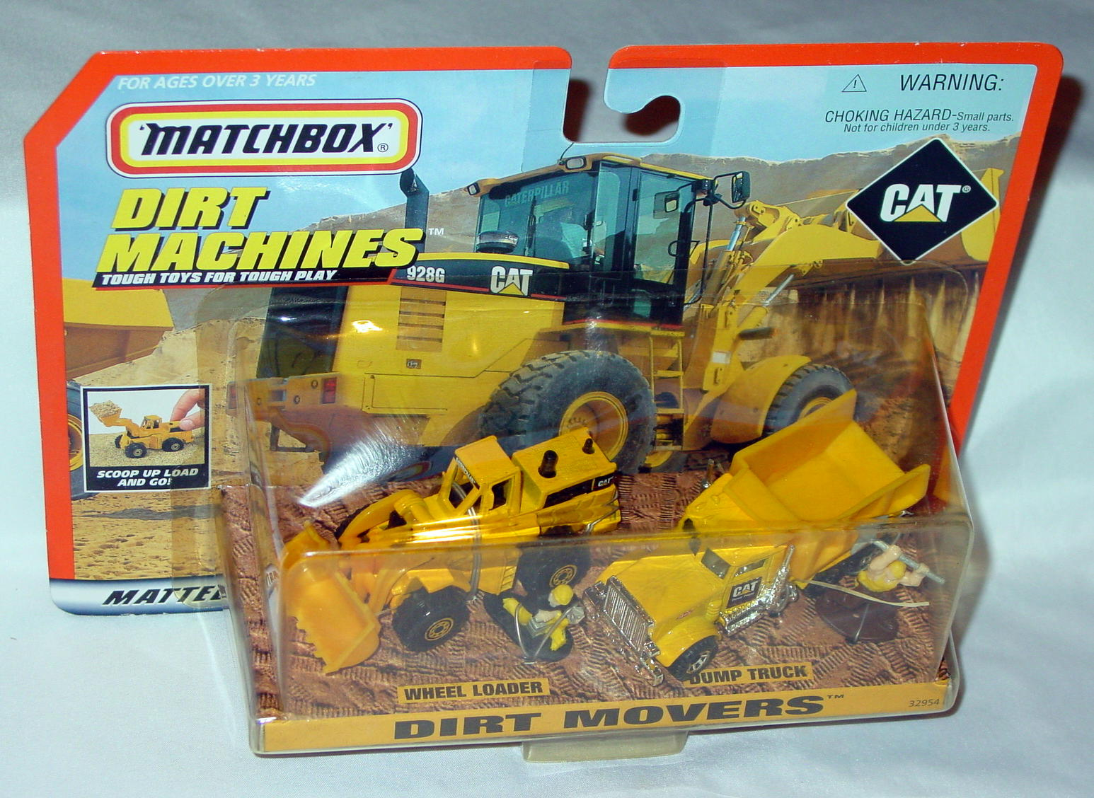 Offshore SuperFast - CAT 32954 Dirt Movers Wheel Loader Dmp Truck Yellow