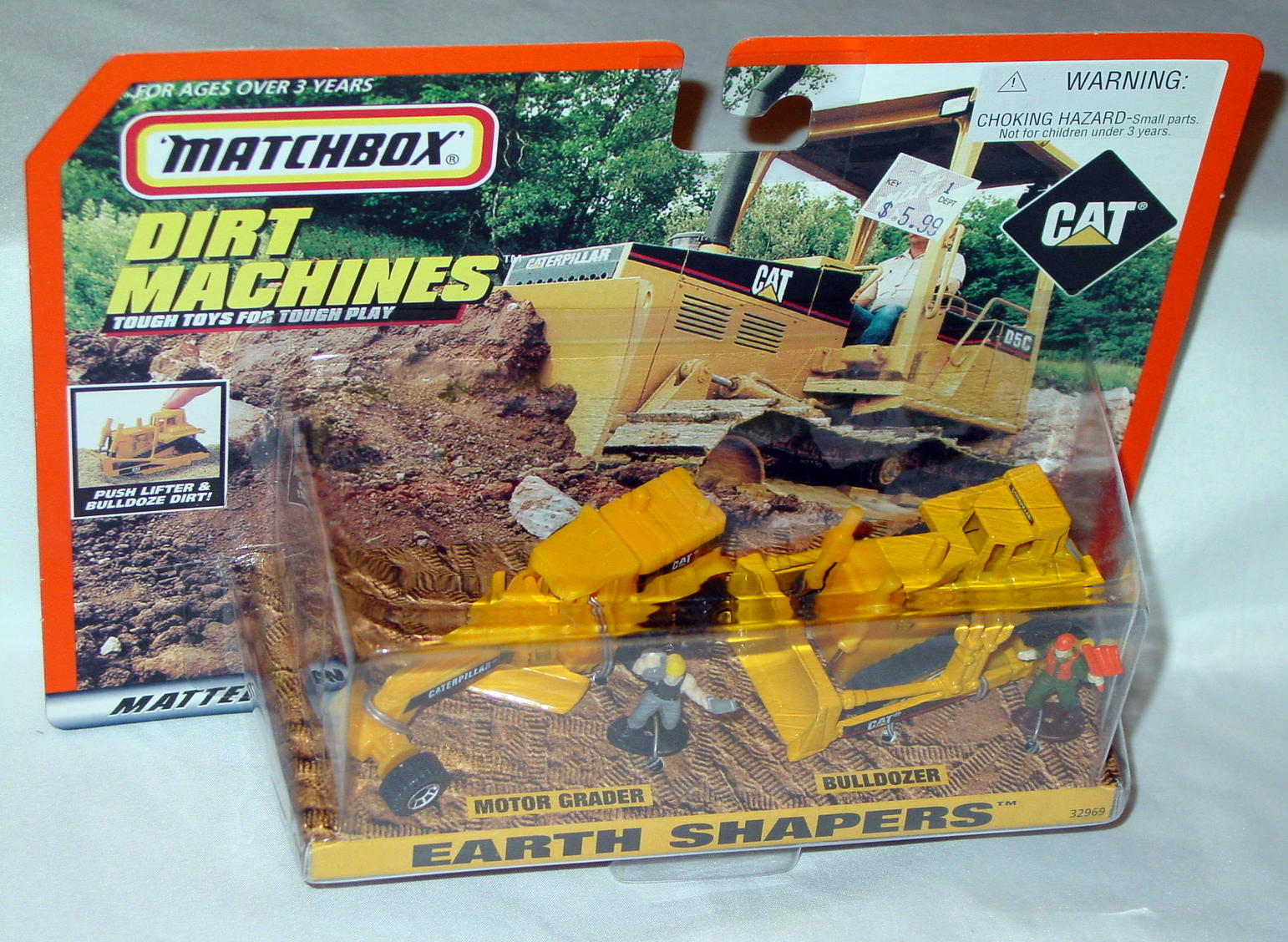 Offshore SuperFast - CAT 32969 Earth Shapers Grader Bulldozer Yellow