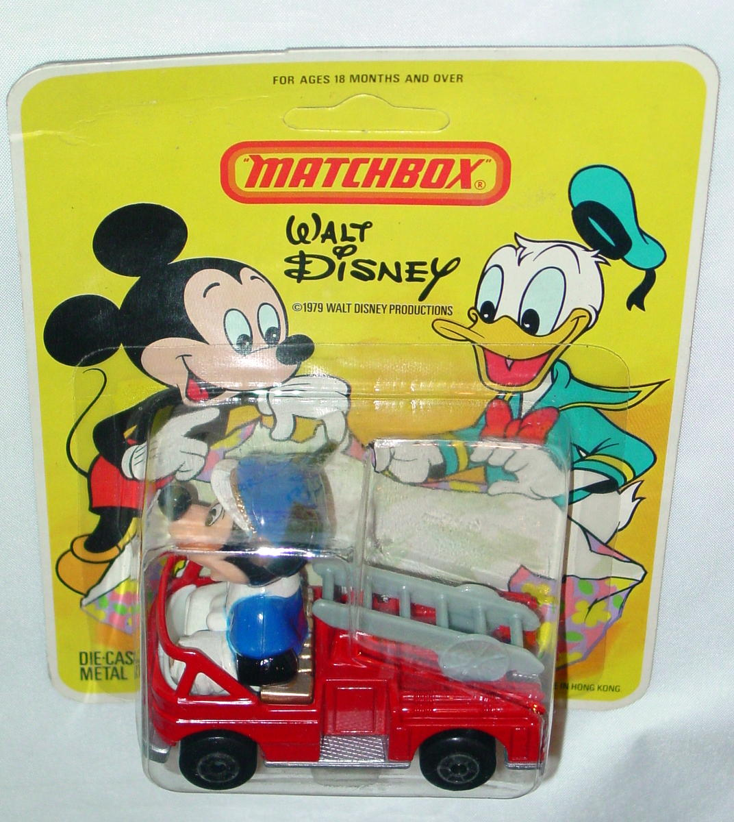 Matchbox DISNEY WD1A1 Mickeys Fire Eng without  ladder casting!
