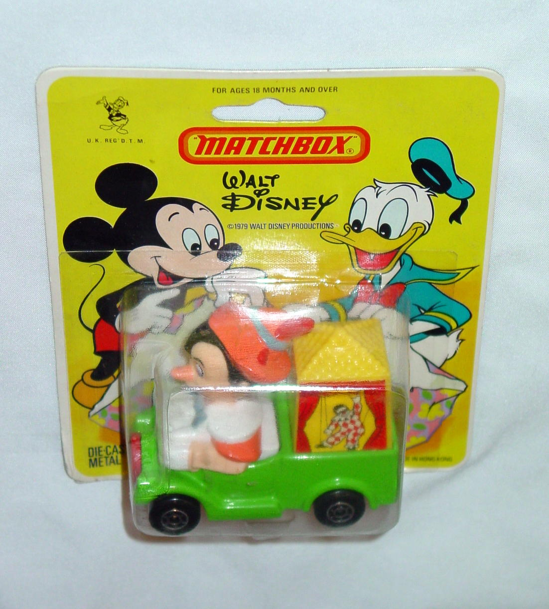Matchbox DISNEY WD7A1 Pinocchios Theater HK