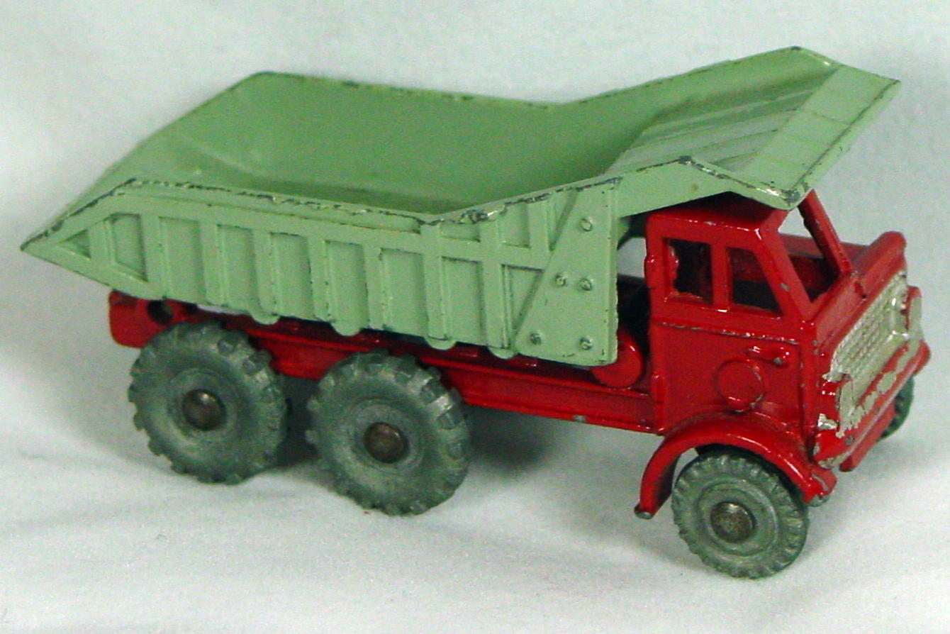 72 - BUDGIE 18 Foden Dumper Red and Gray