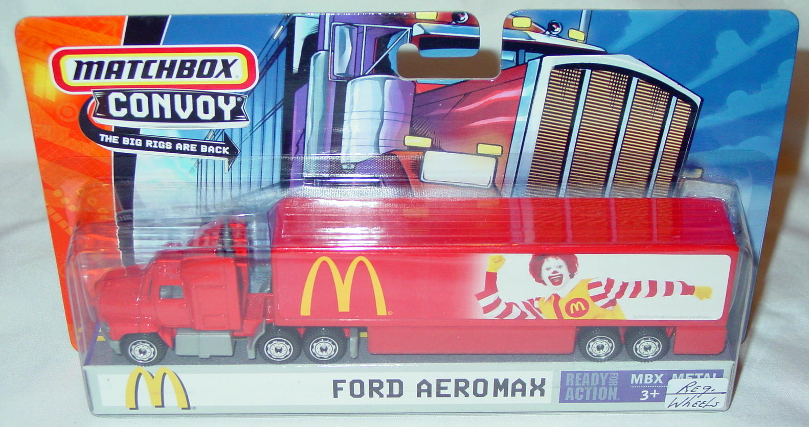 Convoy - 2005 Ford Aeromax Red MacDonalds Ronald 8-spk