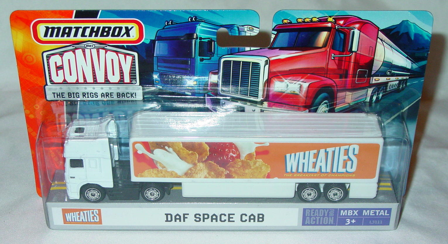 Convoy - 2006 DAF Space Cab White Wheaties
