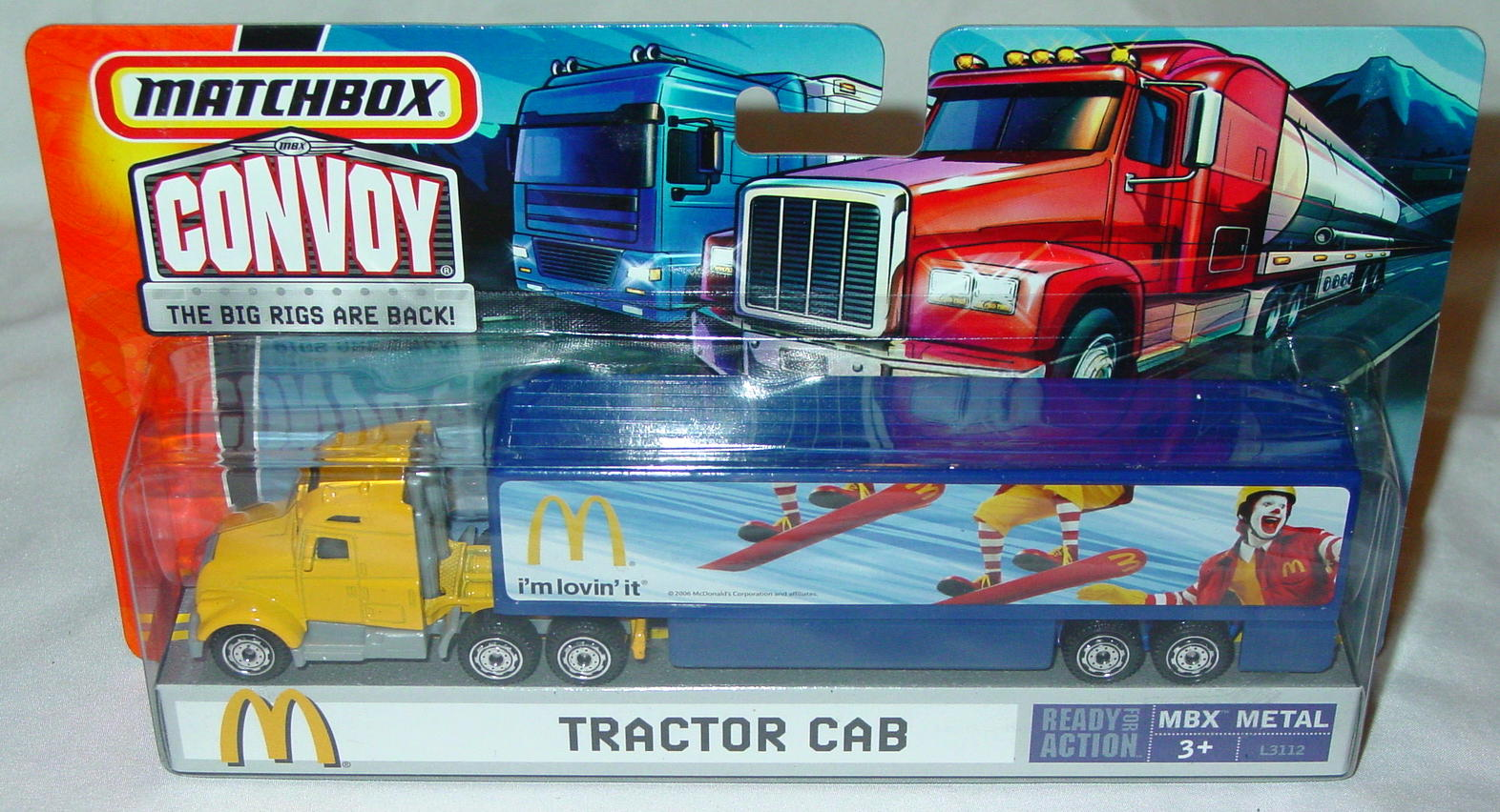 Convoy - 2007 Yellow MacDonalds Im Lovin It Box Truck