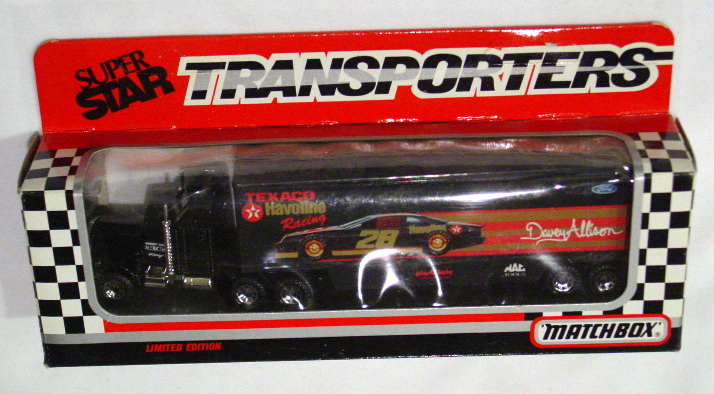 Convoy 104 A 22 - Kenworth Sup transp Black Texaco Davey Allison WR