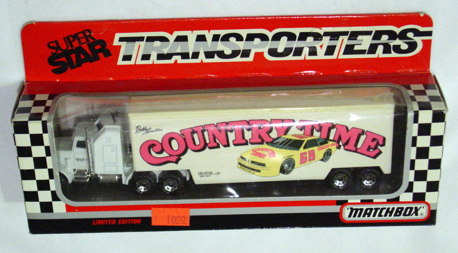 Convoy 104 A 32 - Kenworth Sup transp White Country Time WR