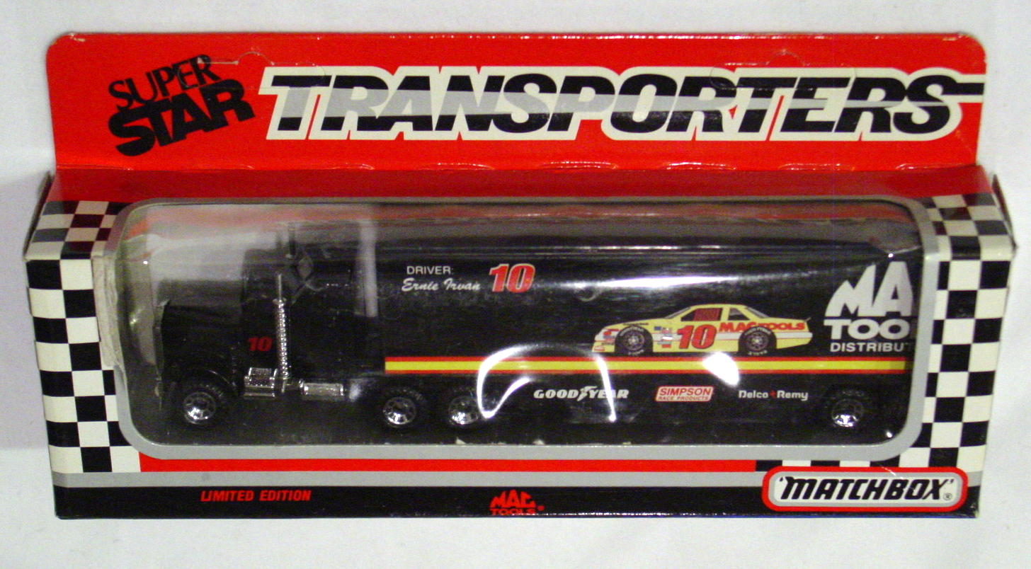 Convoy 104 A 33 - Kenworth Sup transp Black Mac Tools WR