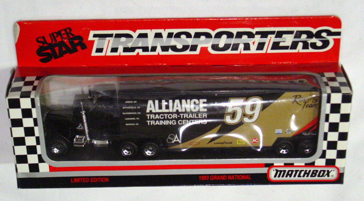 Convoy 104 A 35 - Kenworth Sup transp Black Alliance WR