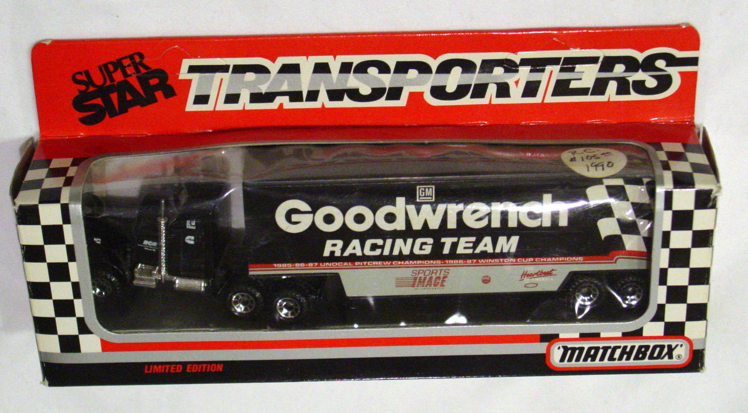 Convoy 104 A 4 - Kenworth Sup transp Black Goodwrench Racing Team WR