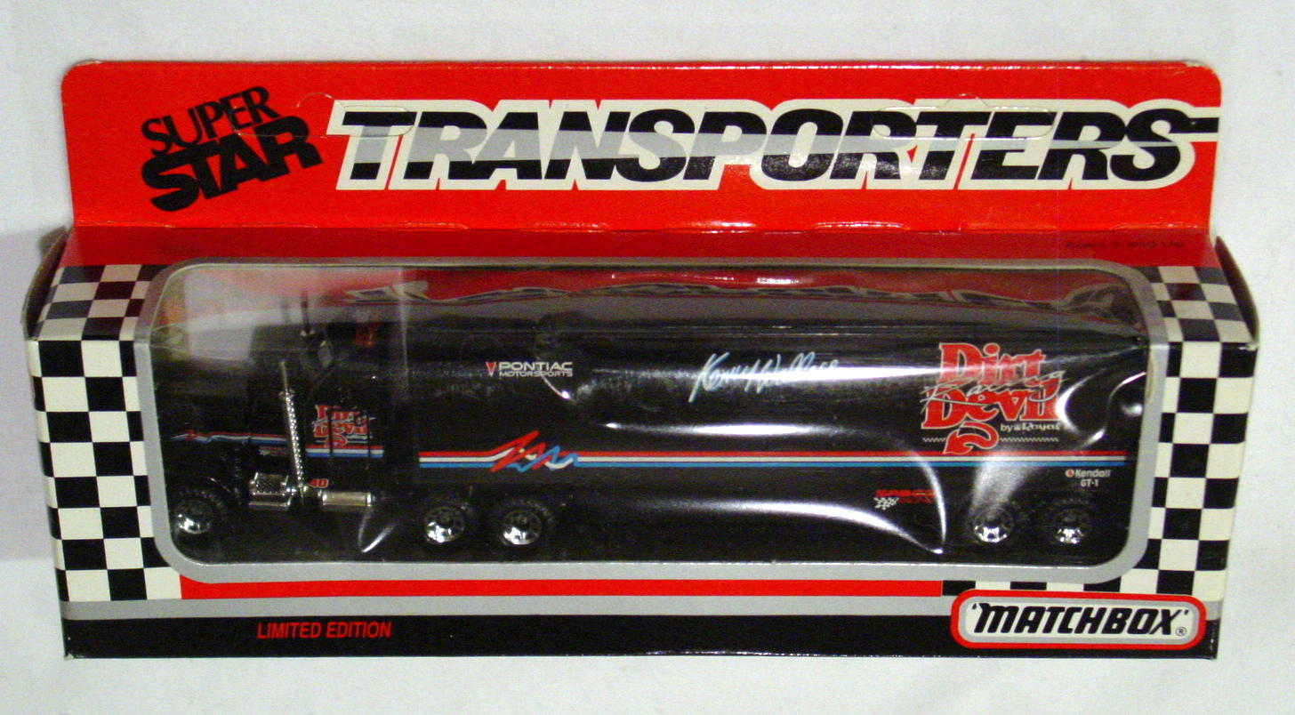 Convoy 104 A 58 - Kenworth Sup transp Black Dirt Devil WR