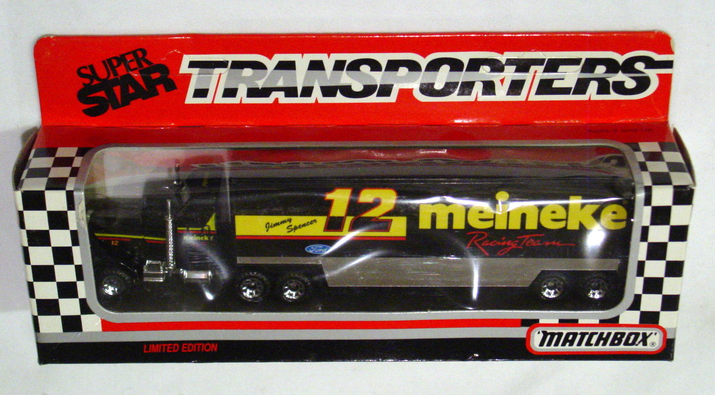 Convoy 104 A 61 - Kenworth Sup transp Black Meineke Racing Team 12 WR