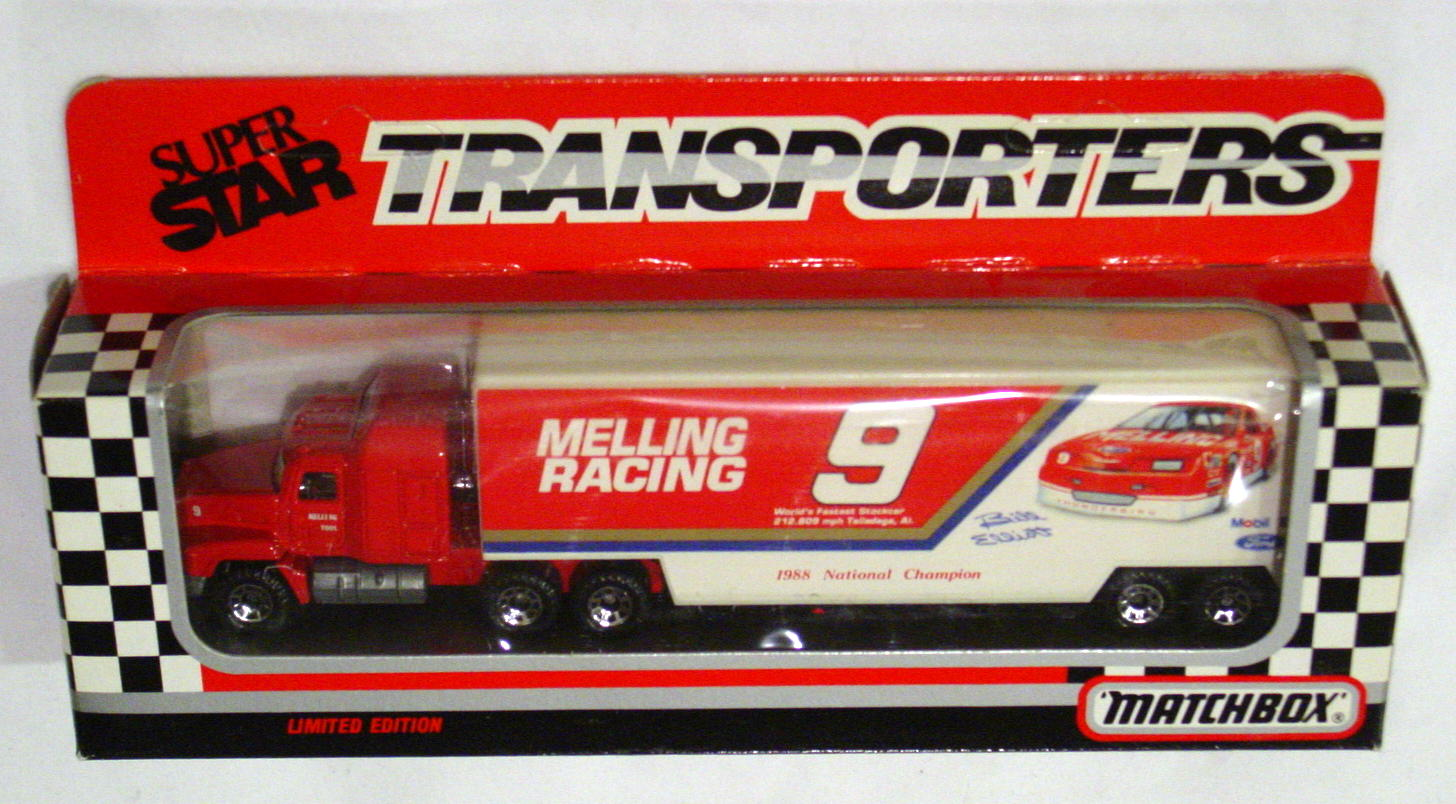 Convoy 107 A 2 - Mack Sup transp Red Melling Racing 9 WR