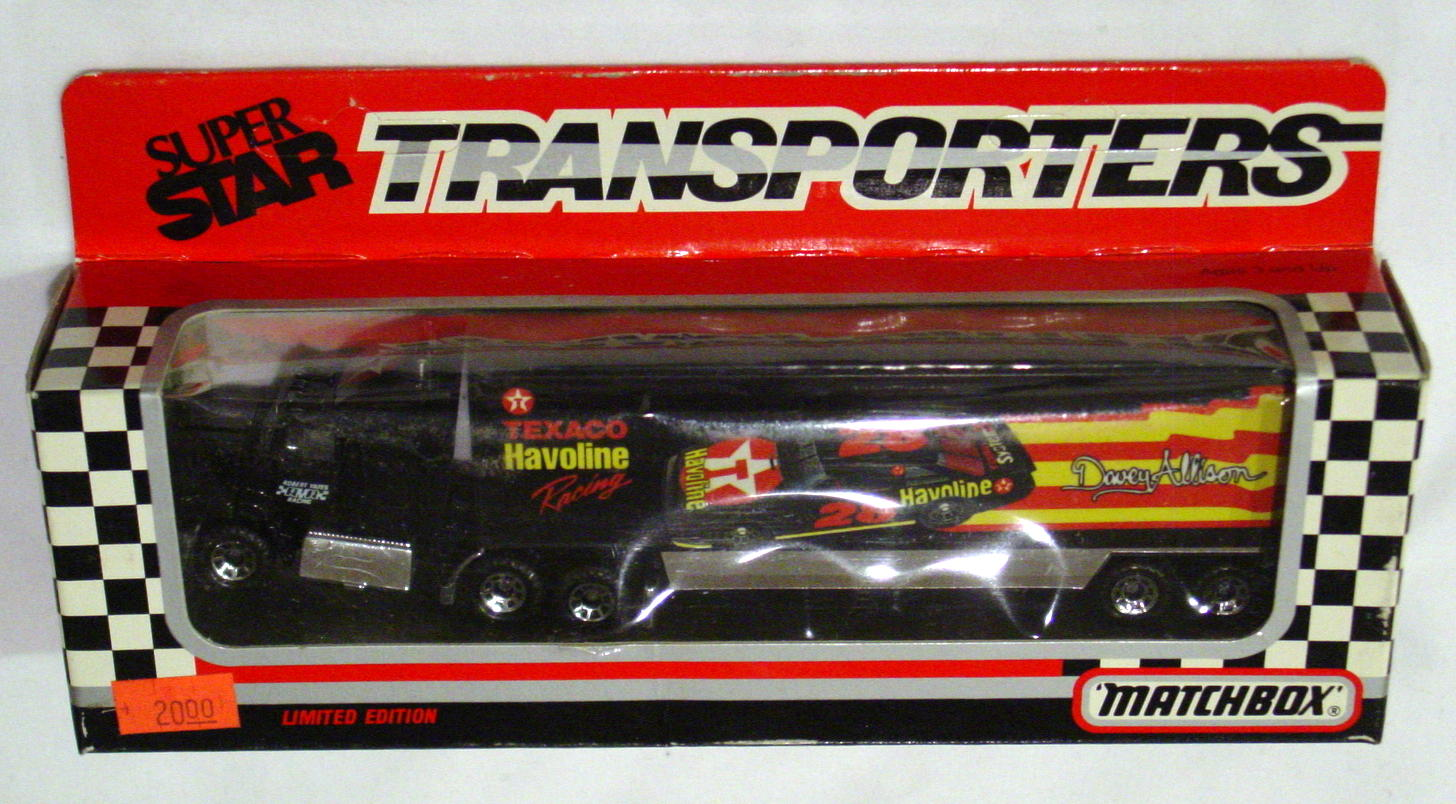 Convoy 109 A 4 - Ford Aeromax Superstar Black Texaco Davey Allison WR