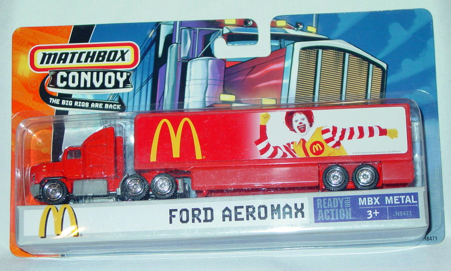 Convoy - 2005 Ford Aeromax Red MacDonalds Ronald