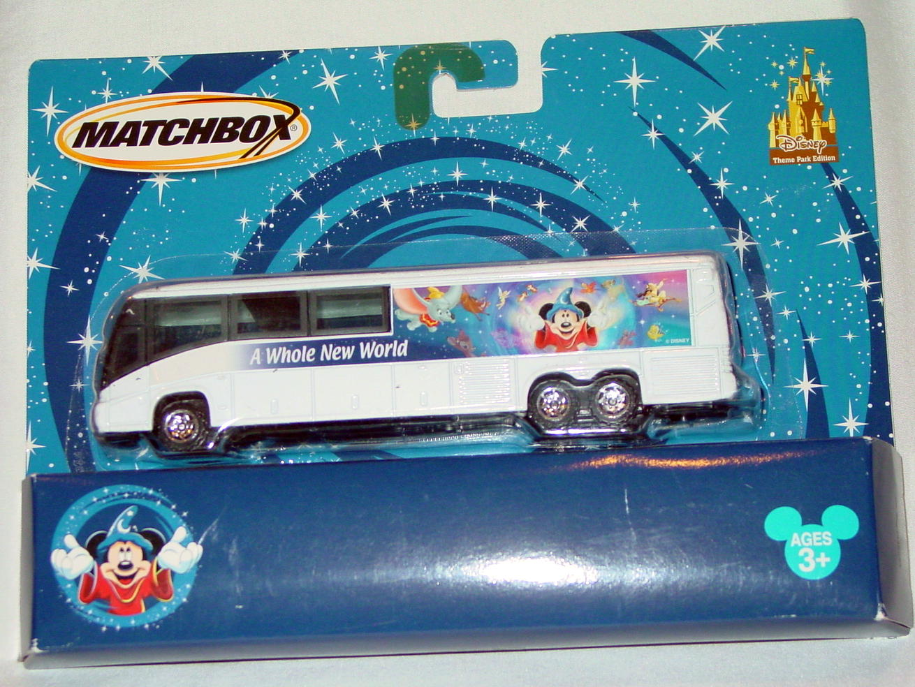 Convoy - MCI BUS Disney 2004 White