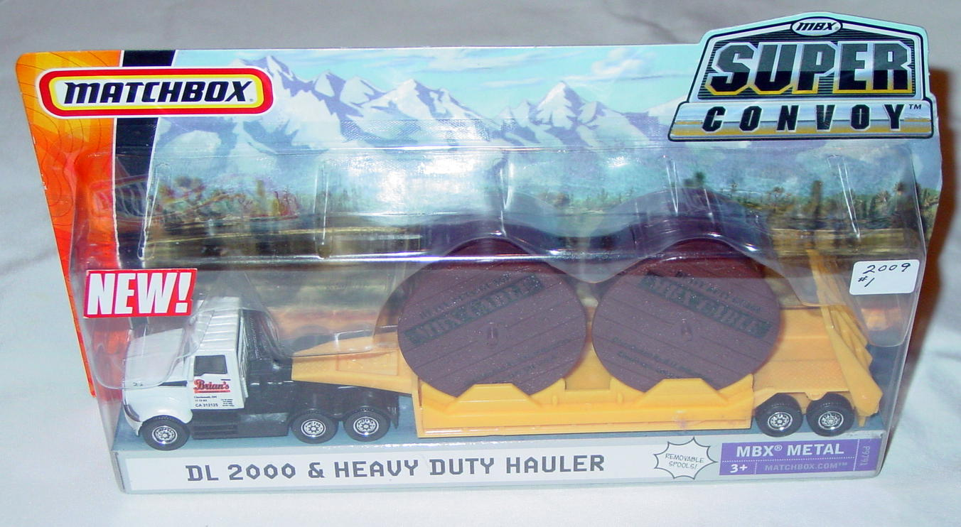 Convoy - SUPERCONVOY 2009 01 DL2000 Cable Hauler