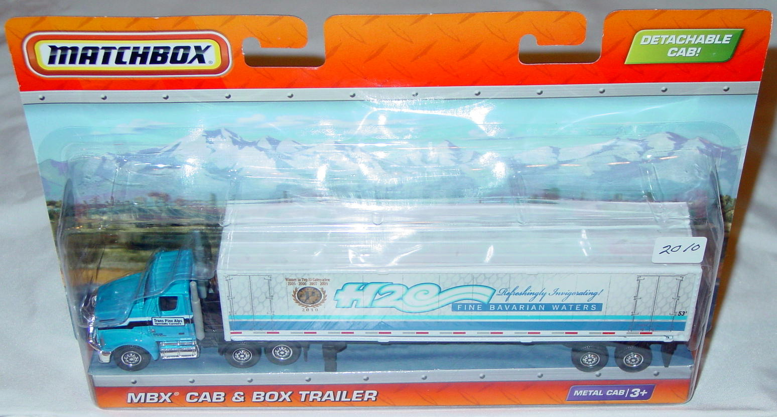 Convoy - SUPERCONVOY 2010 Box Trailer H2O Bavarian Waters