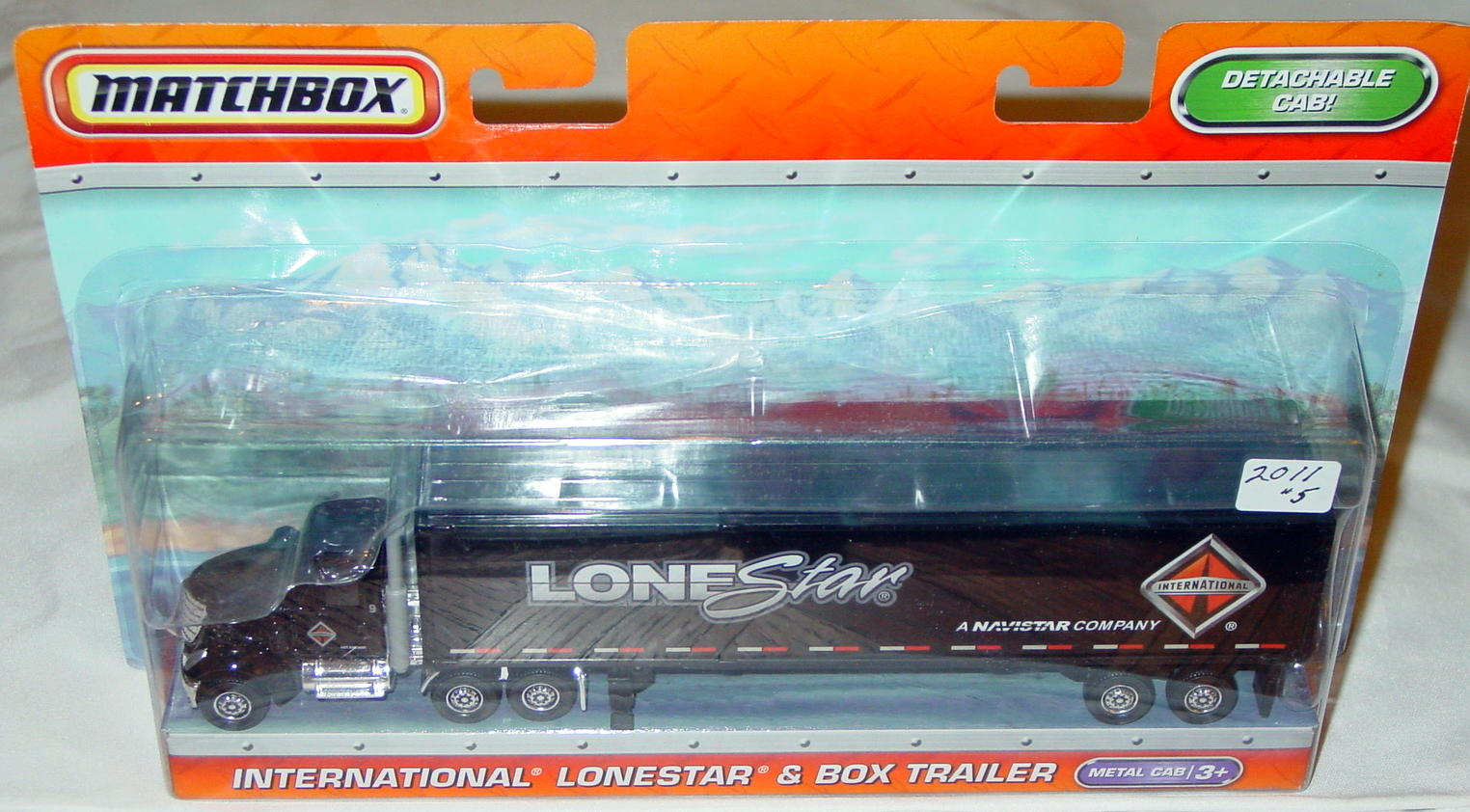 Convoy - SUPERCONVOY 2011 05 Intl Lonestar box Trailer Black
