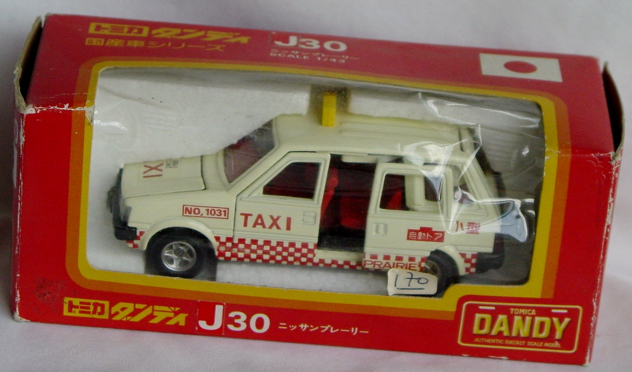 43 - TOMICA DANDY J30 Taxi Cream