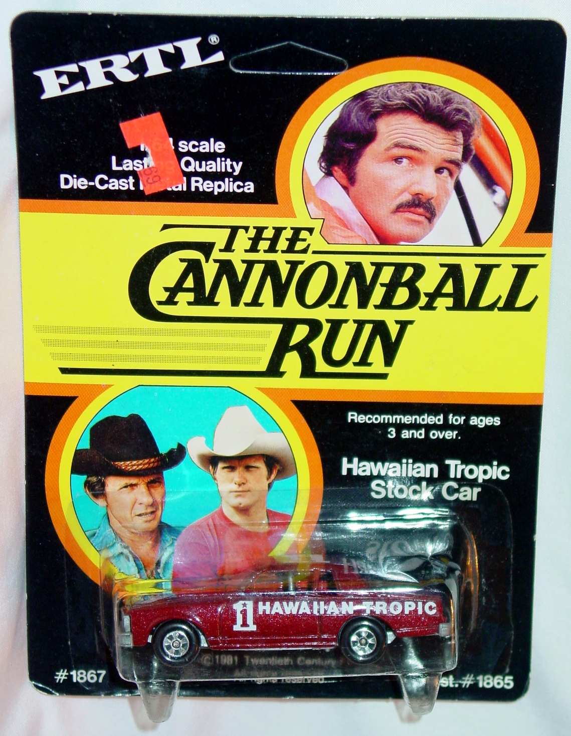 64 - ERTL 1867 80 Chevy Stocker Cannonball Run