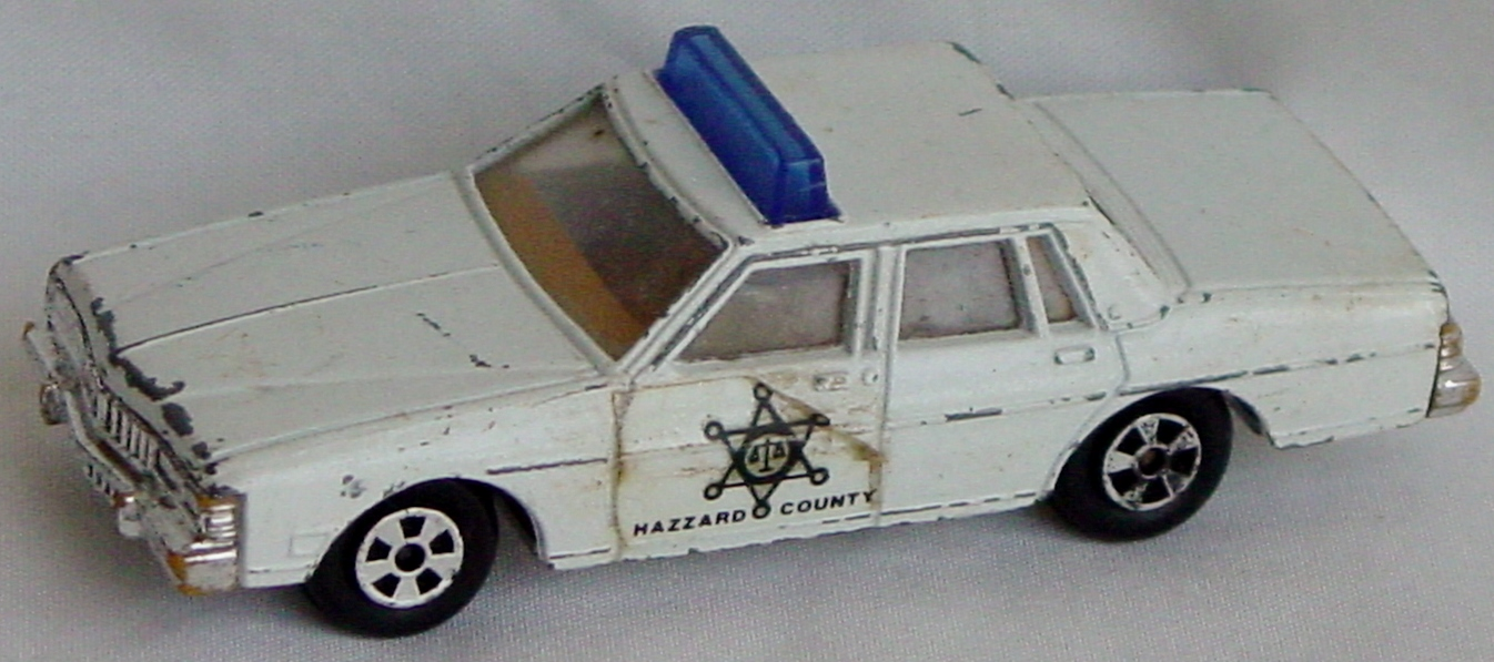 64 - ERTL Hazzard Cty Bonneville -1 Label