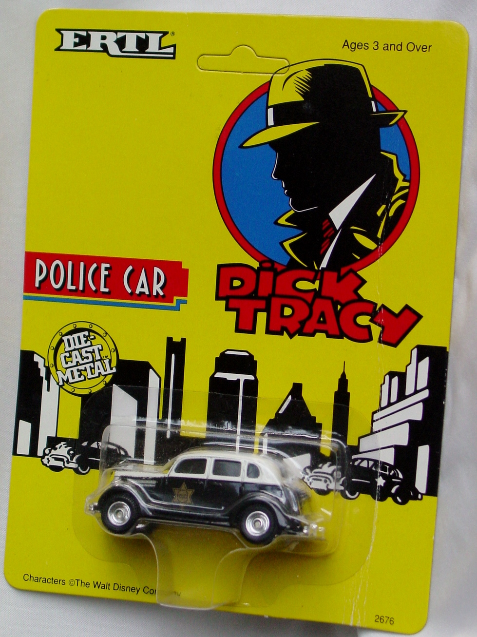 64 - ERTL DICK TRACY Police Car
