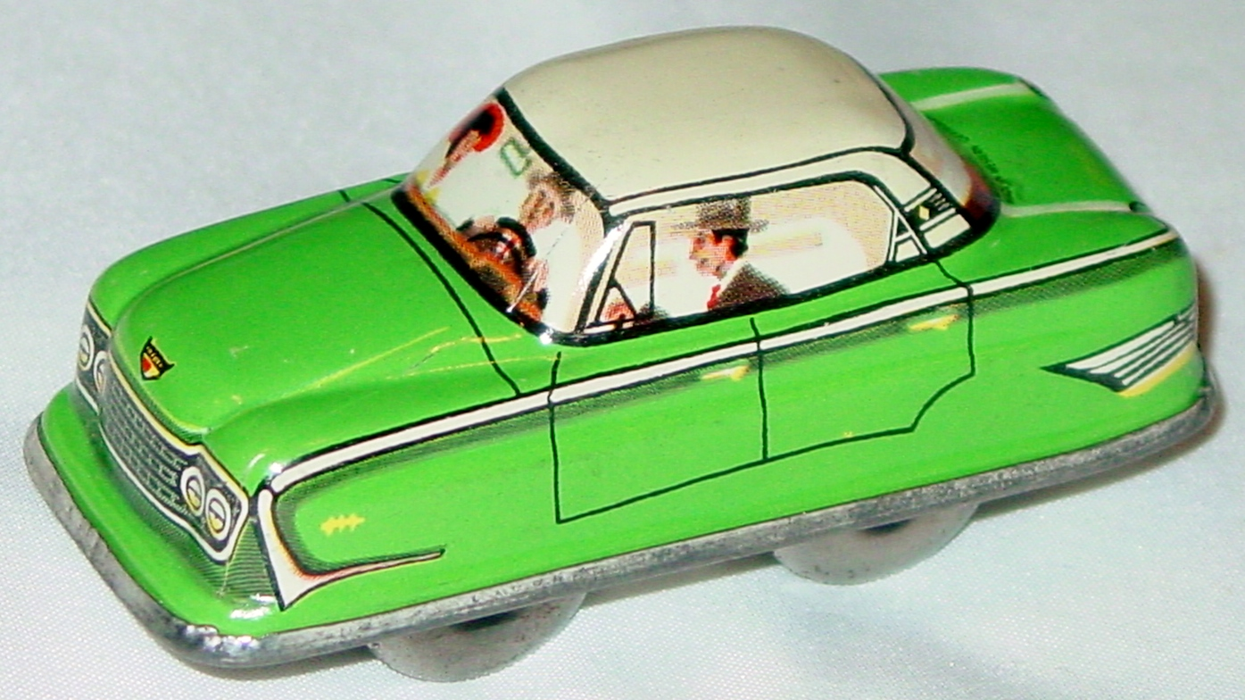 Windup - Car Green 3-INCH windup
