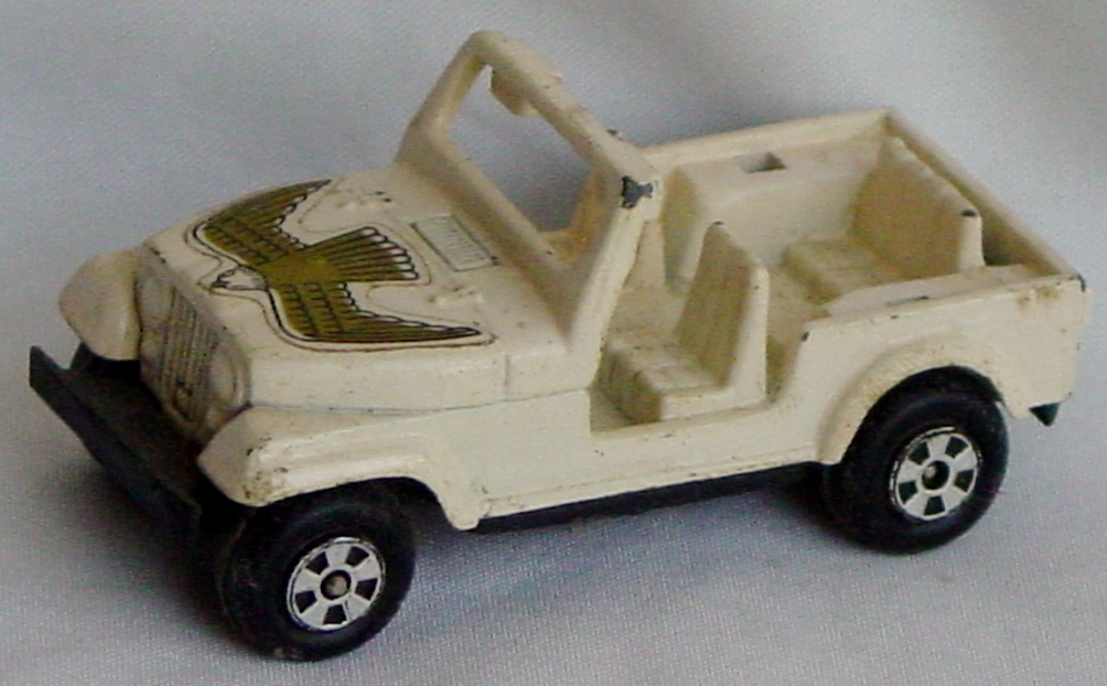 64 - KENNER Jeep dark Cream 0405 HK
