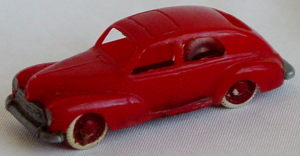 87 - JOUEF HO Peugeot 203 Red