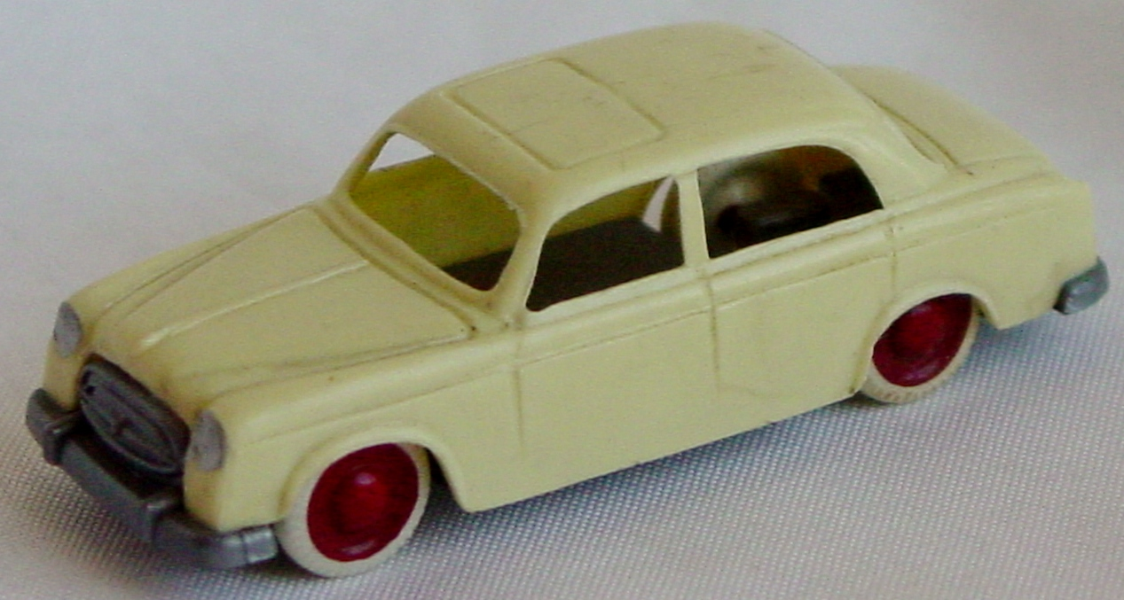 87 - JOUEF HO Peugeot 403 pale Yellow