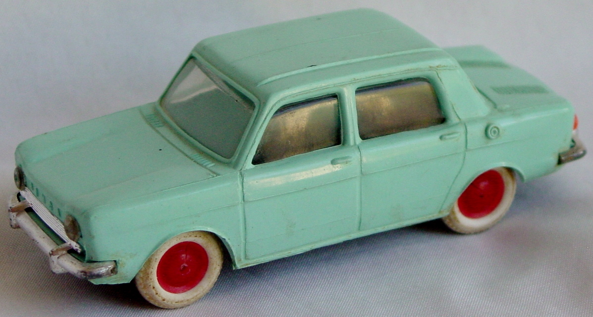43 - MINIALUXE Simca 1000 pale Turquoise suspension repaired