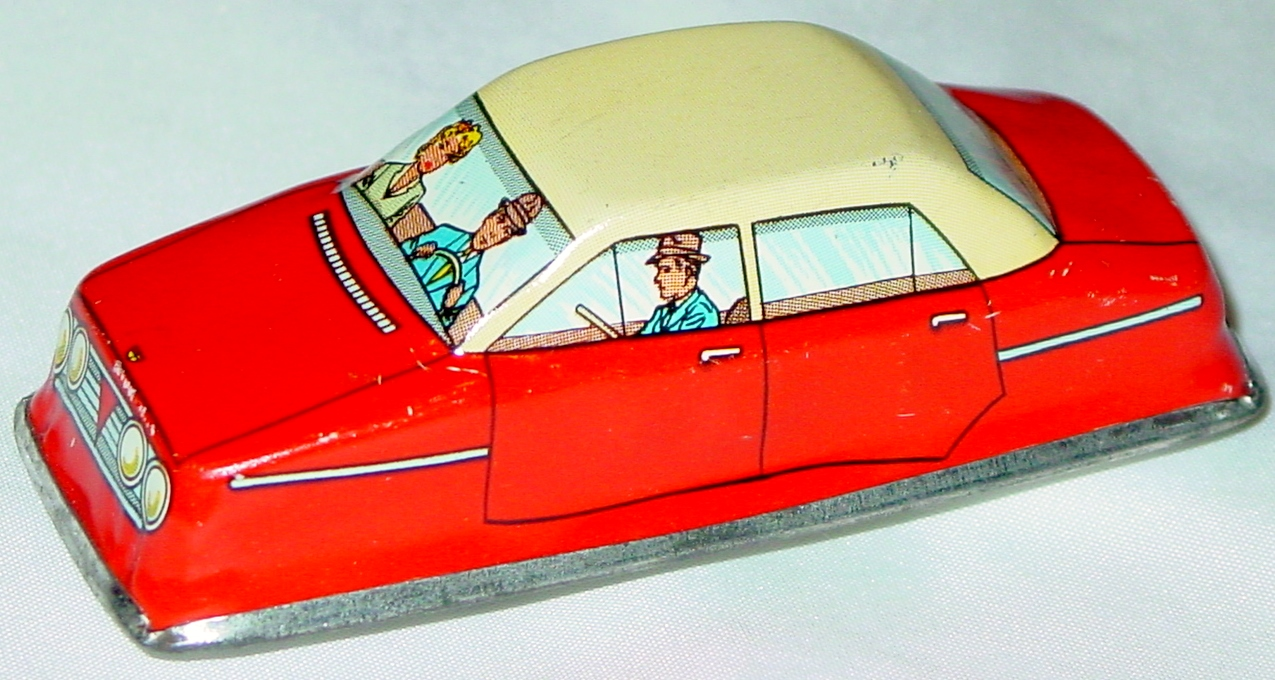 Windup - Car Red 3-INCH windup