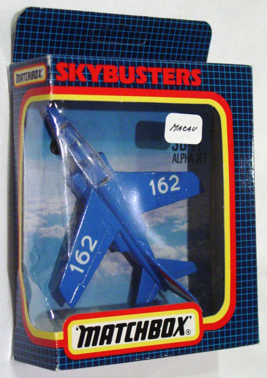 Sky Buster 11 A 4 - Alpha Jet Blue 162 Made in Macau