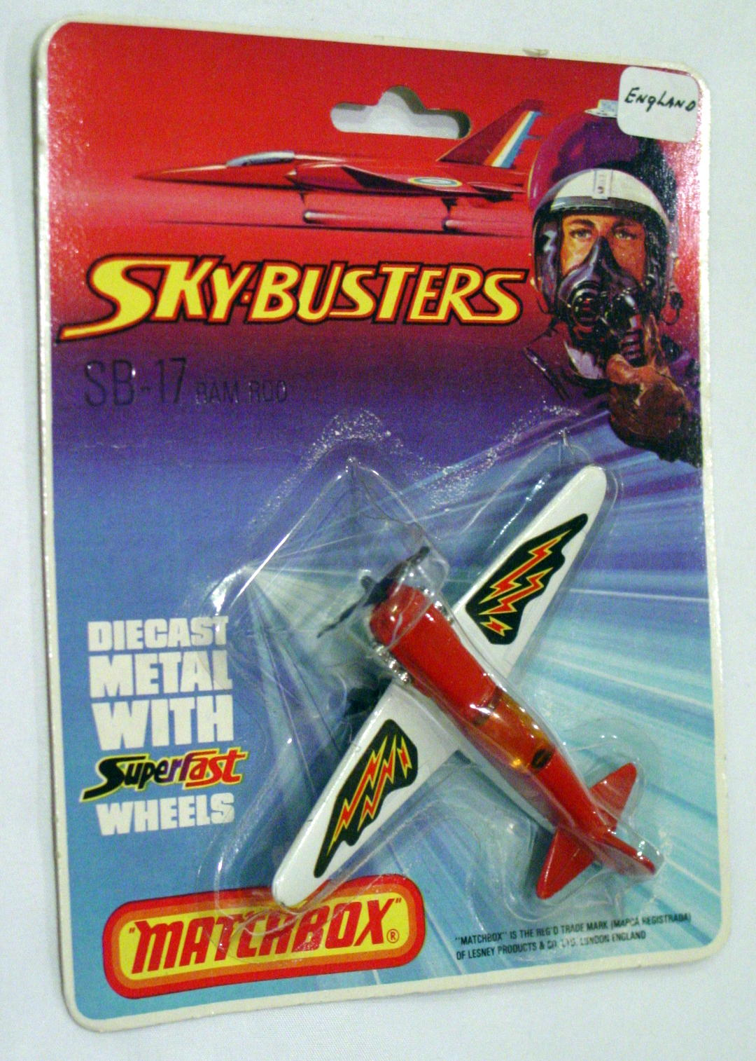 Sky Buster 17 A 1 - Ram Rod Red 1 3/8 Labs C9- BP
