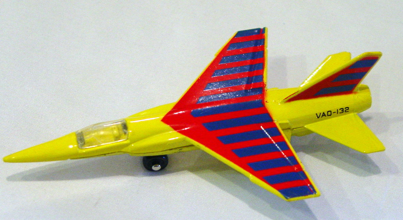 Sky Buster 04 A 7 - Mirage F1 Yellow blue and red tampo Made in Macau