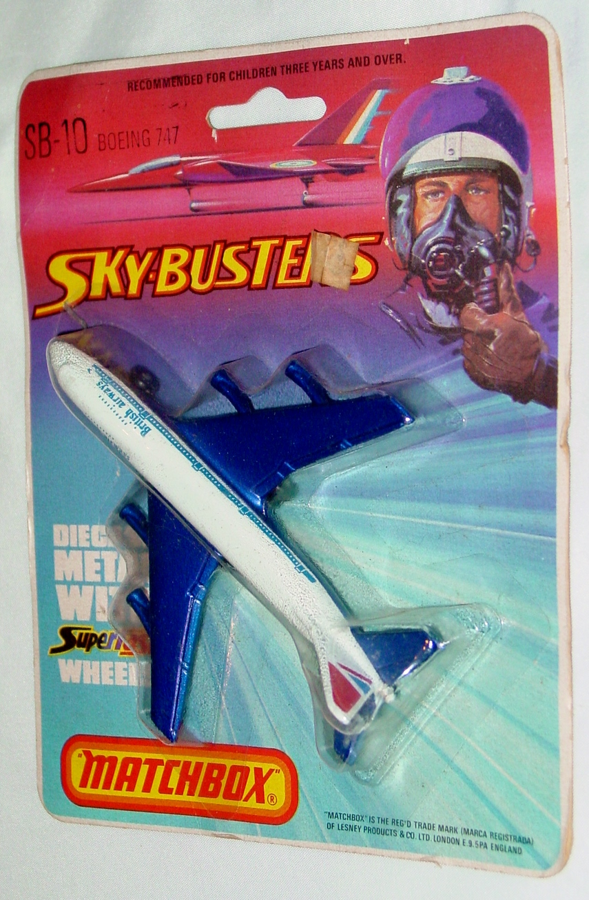Sky Buster 10 A 4 - Boeing 747 White British Airways tampo ENG C8.5 BP