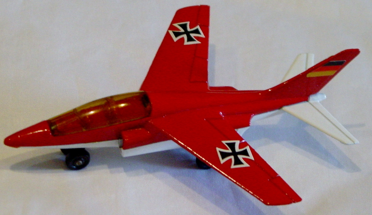 Sky Buster 11 A 2 - Alpha Jet met Red AM WIN thick axles lg tail label ENG